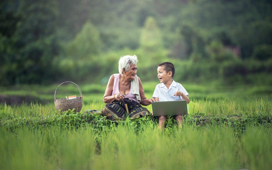 Grand-mère, montre-moi à quoi ressemble l'enfer et le paradis