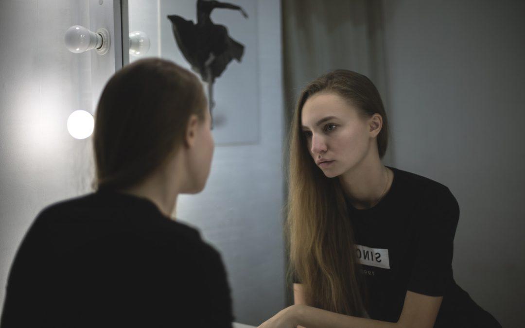 Mon reflet dans le miroir